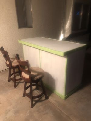 Wood Bar or Shelving Unit for Sale in Mesa, AZ
