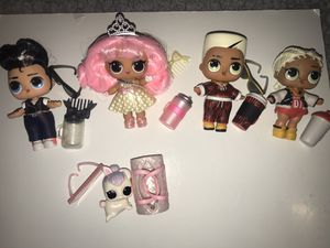 """Lol Dolls lot of 5 """"reserved for Jess"""" for Sale in Portland, OR"""