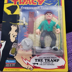 Dick Tracy Playmates Action Figures Steve The Tramp for Sale in Thousand Oaks, CA