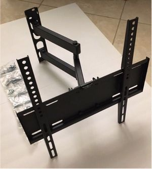 New in box universal 22 to 55 inch swivel extending full motion tv television wall mount bracket single arm for Sale in Whittier, CA
