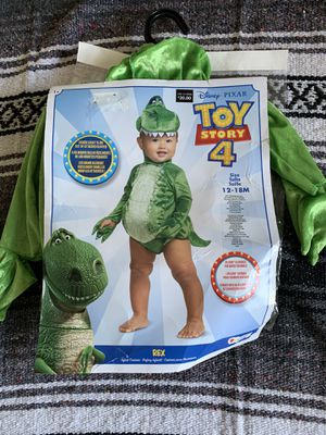 Halloween Costume Toy Story Rex baby for Sale in Fontana, CA