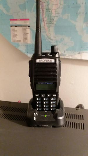 Baofeng dual band FM 8 watt output. Walkie talkie. for Sale in Springfield, VA