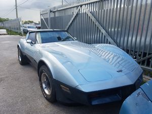 1982 chevy Corvette stingray for Sale in Miami, FL
