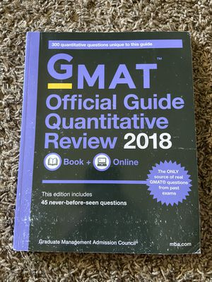 GMAT Guide 2018 for Sale in Odessa, TX