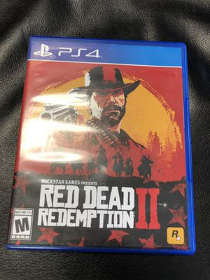 Red dead redemption 2 PS4 for Sale in Chicago, IL
