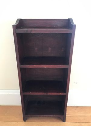 Small wooden bookshelf for Sale in Arlington, MA