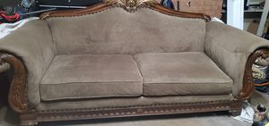 Elegant sofa, matching end tables and sofa table for Sale in Germantown, MD