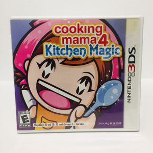 Cooking Mama 4 Kitchen Magic Nintendo 3DS/2DS for Sale in Bothell, WA