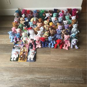 66 Beanie Baby's for Sale in Costa Mesa, CA