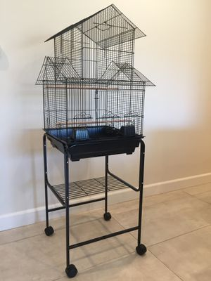 Large House Shaped Bird Cage with Stand on Wheels BRAND NEW for Sale in Los Angeles, CA