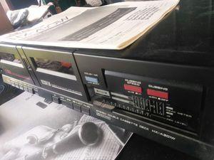 Akai dual cassette player for Sale in Savannah, GA