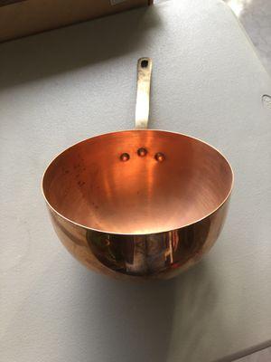 Mauviel Zabaglione Copper Pot for Sale in North Las Vegas, NV