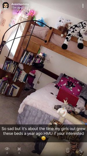 Spiral staircase bunk beds with book shelves!! for Sale in Hayward, CA