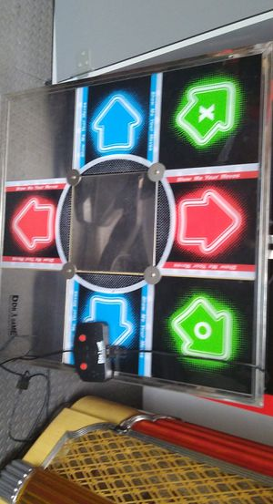 Tournament style DDR pad for Xbox 360/PS3 with control box. Dance Dance Revolution/ arcade. PS1/PS2/PS3/Xbox/Xbox360/WII/PC for Sale in Bonney Lake, WA