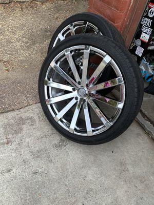 "24"" Velocity Rims for Sale in San Jose, CA"