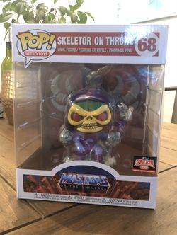 FUNKO POP! Deluxe: Skeletor On Throne (Target Con Exclusive) for Sale in Sterling,  VA