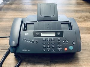 Fax machine HP 1040 fax for Sale in Lynnwood, WA