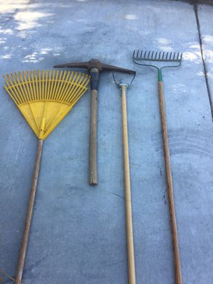 Garden tools all for $25 for Sale in Ontario, CA