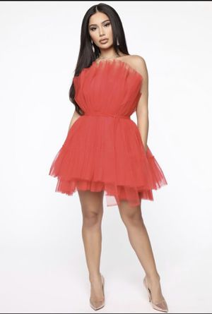 Tulle Mini Dress - Red (Xsmall) for Sale in Queen Creek, AZ