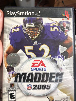 Madden 2005 ps2 for Sale in Everett, WA