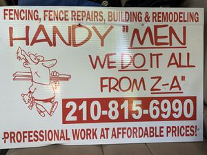 Get it done for Sale in San Antonio, TX