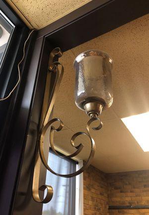 Vintage brass light fixture for Sale in Auburn, WA