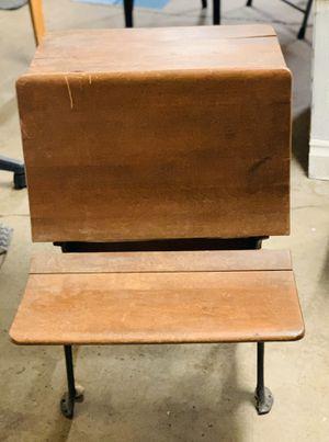 Antique school desk for Sale in Anchorage, AK