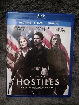 Hostiles (Blu-ray + DVD) for Sale in Spartanburg, SC