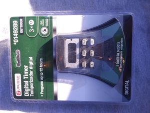 Outdoor Timer Sprinkers and Garden for Sale in Alta Loma, CA