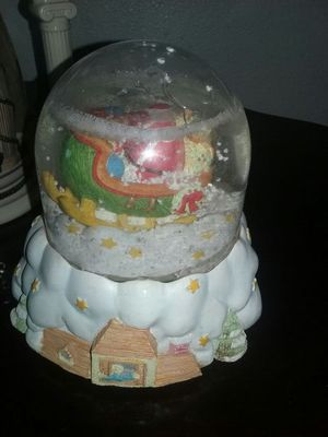 Snowglobe and holiday countdown for Sale in Pasco, WA