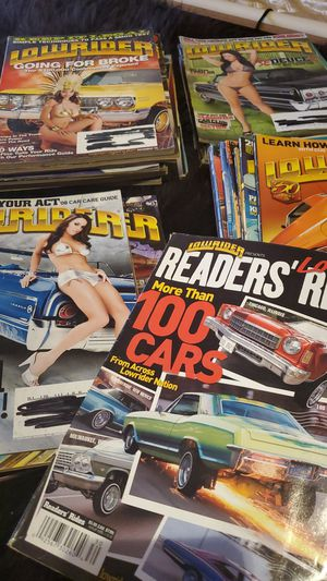 70 Vintage lowrider magazines for Sale in Oceanside, CA