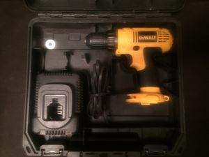 DeWalt 12v drill ,charger and carrying case for Sale in Missoula, MT