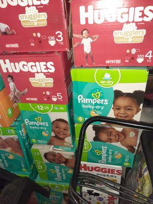 Pampers y huggies for Sale in Riverside, CA