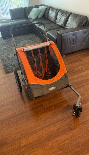 Instep jogging / bike stroller / trailer for up to 2 children for Sale in Pembroke Pines, FL