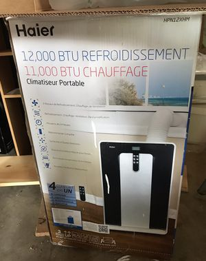 Haier portable cool /heat air conditioner for Sale in Canal Winchester, OH