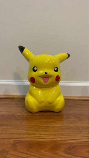 Pikachu piggy bank for Sale in Sterling, VA