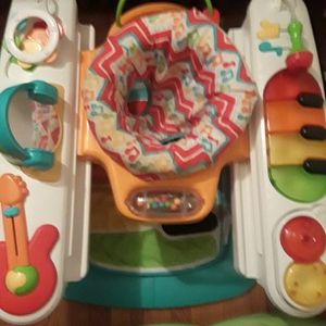 Old molde fisher price baby Toy Activity Playing Seat for Sale in Philadelphia, PA
