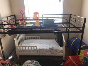 Bunk beds bottom half's in Storage for Sale in Parma, OH