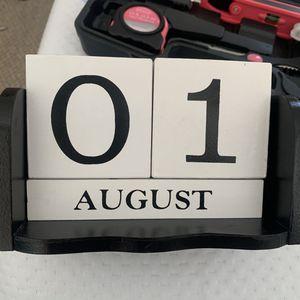 Block Calendar/Date Decoration for Sale in San Diego, CA