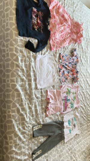 Baby Kids toddler girl Clothes size 2 to 3 year old good condition 13 pieces for all $10. Price firm for Sale in San Diego, CA