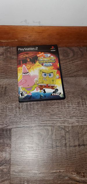 Playstation 2 SpongeBob SquarePants the move for Sale in Melrose Park, IL