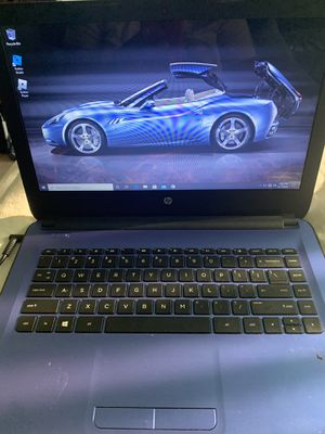 Hp laptop with windows 10 for Sale in North Las Vegas, NV