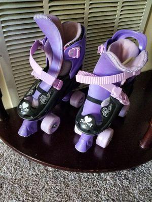 disney fairies adjustable quad skates tinker bell girls rollerskates toys outdoor rollerblades for Sale in Lorton, VA