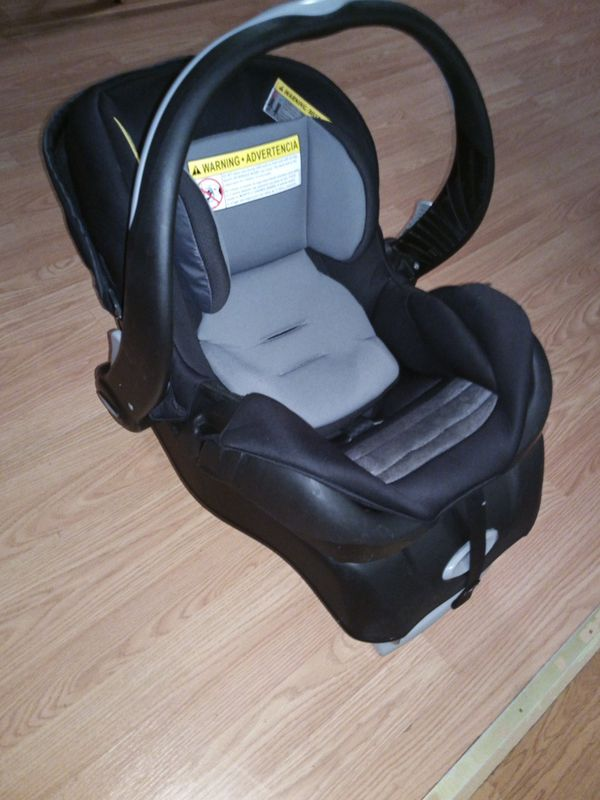 Baby car seat with booster