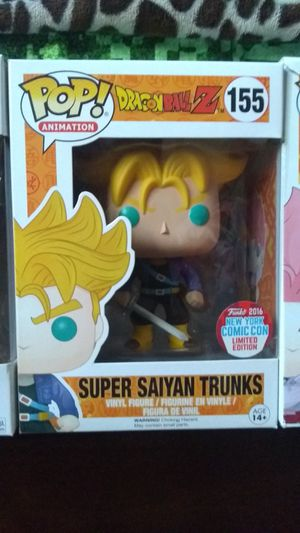 funko pop trunks dragon ball z for Sale in Northlake, IL