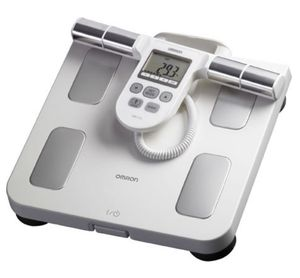 Omron full body sensor scale composition monitor BMI body fat percentage work out health gym for Sale in Alexandria, VA