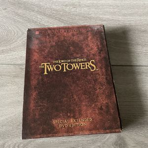 Lord Of The Rings - Two Towers Extended Edition DVD for Sale in Los Angeles, CA