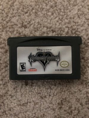 Gameboy Advance Kingdom Hearts Chain of Memories Game for Sale in Las Vegas, NV