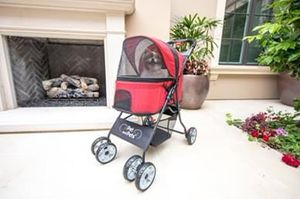 Catalina Pet Stroller in Red for Dogs, Cats, and Small Animals for Sale in Ontario, CA