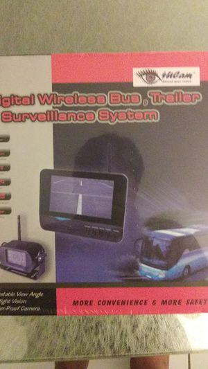 Rv back up camera new in original package unopened for Sale in HALNDLE BCH, FL